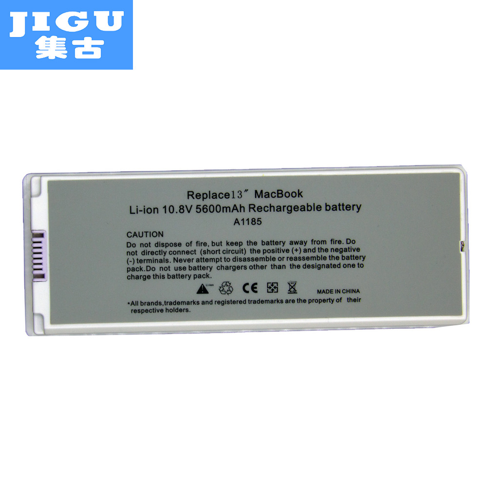 JIGU Laptop Battery For Apple A1185 MA561 for MacBook 13 A1181 MA254 MA255 MA699 MA700 MB061*/A MB062J/A MB402 MC374LL/A MB881