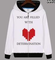 Undertale Hot Game Sans skull Frisk Toriel Sans Papyrus skull funny zipper Annoying Dog Costume hoodie jacket coat
