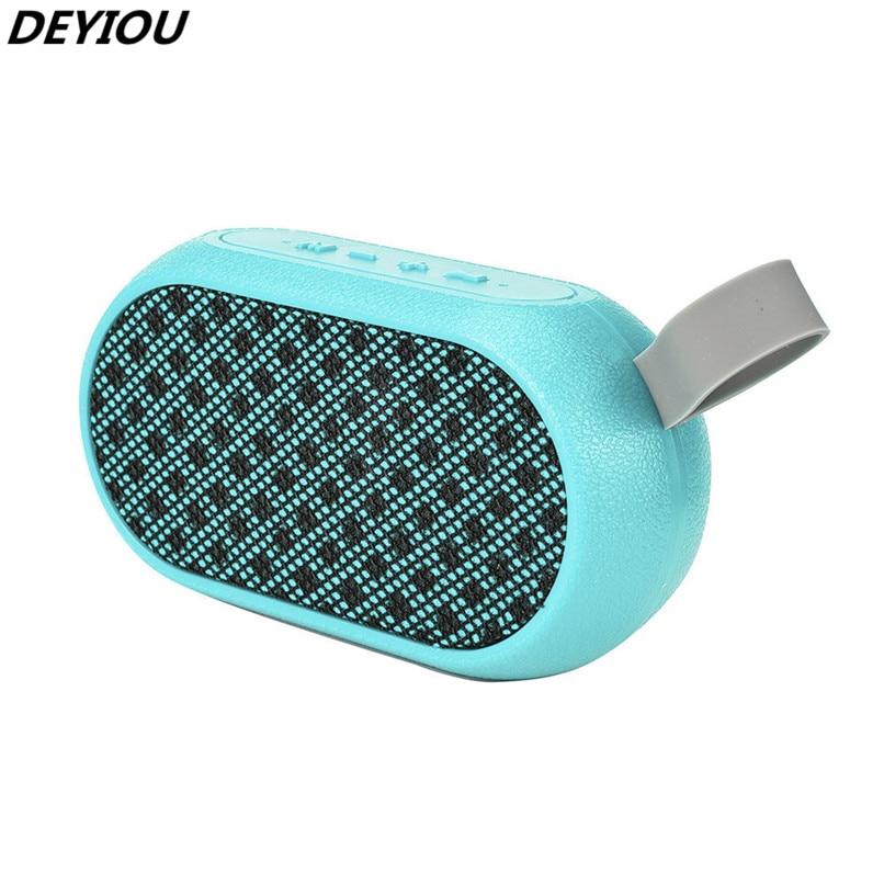 DEYIOU Portable Bluetooth Speaker Super Bass Stereo Wireless Bluetooth Speaker Music Player H1TY0