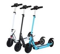 SUPERTEFF EW4 электрический скутер ЖК дисплей 8 дюймов 350 Вт Электрический скутер Смарт двухколесный скейтборд скутер для взрослых складной