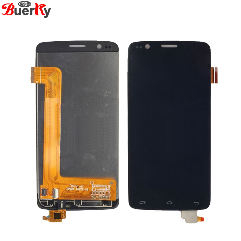 BKparts 5pcs LCD For Fly IQ4409 Era life 4 Full LCD Display touch screen glass Panel Digitizer assembly free shipping