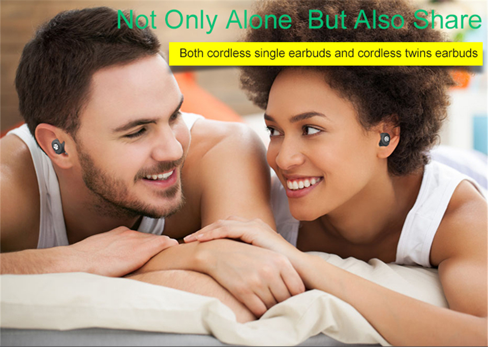 Brand Bluetooth Earphones Mini Twins Handsfree TWS bluetooth headset with Power Bank For iPhone Xiaomi Mobile Phones
