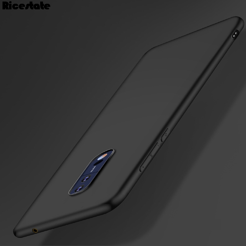 For Nokia 8 Nokia 3 5 6 7 8 9 Nokia 2.1 3.1 5.1 Ultra Thin Frosted Silicone  Soft Back Cover Case Black Color Case
