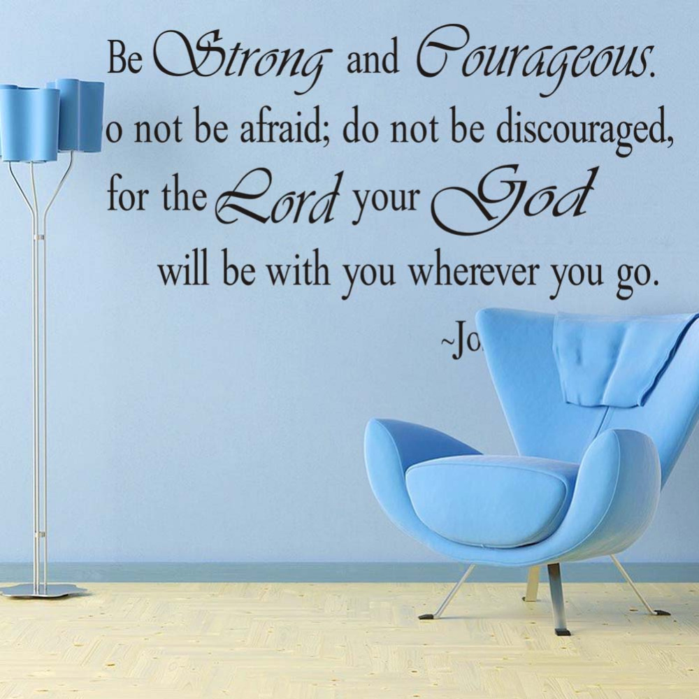 christian inspirational quotes vinyl lettering wall stickers 8127 decals  for living bedroom home decoration english quote