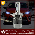 Guang Dian car led light h4 Headlight Head lamp High Beam + low beam Dipped beam 6000K white H4 for TO-Y-O-T-A Yaris L 2014-2015