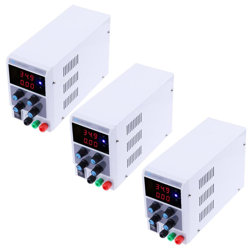 Mini Adjustable DC Regulated Power Supply 0-60V 0-3A 180W 3 Bit Digit Display,Switching Regulated power rework station NEW four digit display rps3003c 2 adjustable dc power supply 30v 3a linear power supply repair