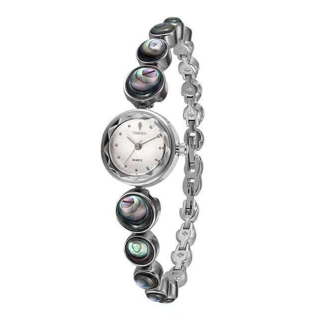 2017 TIME100 Women Watch Fashion Vintage Bracelet Small Dial Alloy Abalone Shell Bracelet Quartz Watches relogio feminino