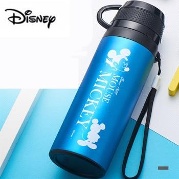 Disney 2019 Yeni Vakum spor şişesi Kişilik Yaratıcı taşınabilir bardak Çocuk Bebek Öğrenme Fincan Paslanmaz Çelik Vakum Bardak