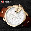 Montre Homme  Relogio CURREN Mens Watches Top Brand Luxury Waterproof Leather Watches Quartz-Watch Men CURREN Male Watch 8176