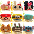 Cartoon Makeup Bag Plush Large Capacity Stationery Cosmetic Bag Best Personalized Gift Toiletry Bag 0025