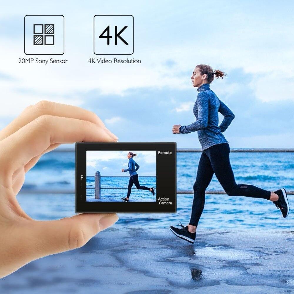 AKASO Brave 4 Cámara de Acción Ultra HD 4K WiFi 2,0