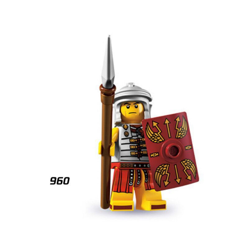 Single Sale Super Heroes Star Wars 960 Roman Soldiers Mini Building Blocks Figure Bricks Toy Kids Gift Compatible Legoed Ninjaed