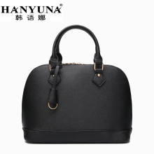 HANYUNA BRAND 2017 New Fashion European Women's Hobos Bags Genuine Leather Ladies Handbags Female Shoulder Bags