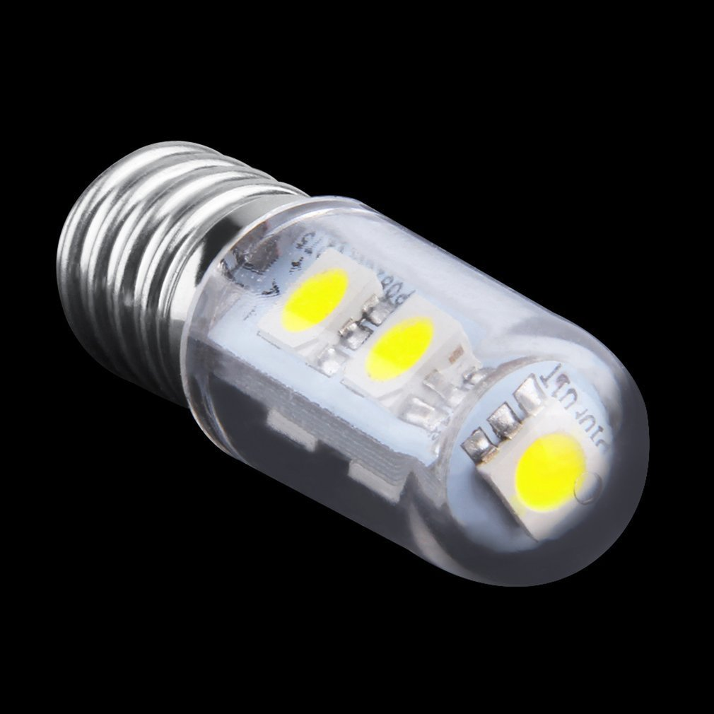 Lights & Lighting Sensible Mini E14 1w 7 Led 5050 Smd Nature/warm White Light For Sewing Machine Refrigerator Lamp 110v/220v Led Bulb