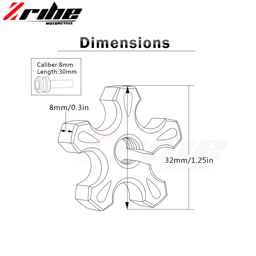 Motorcycle CNC Billet Clutch Cable Wire Adjuster Screw M8 M10 1.25 ...