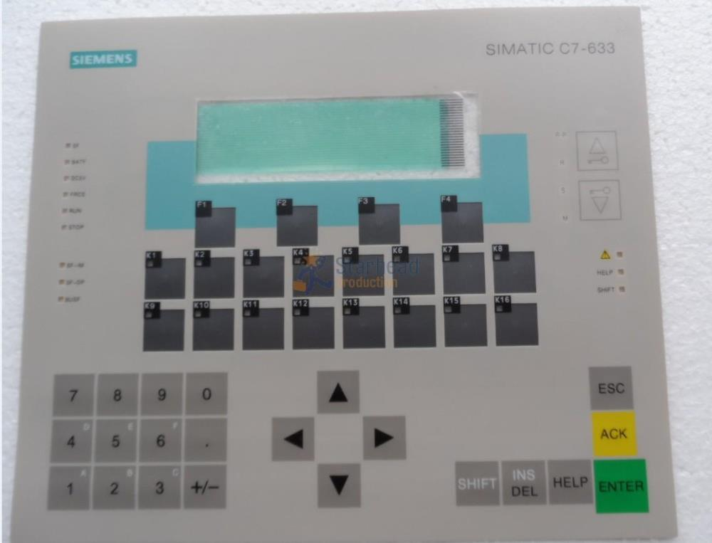 C7-633 6ES7633-2BF02-0AE3 for Siemens Simatic HMI Panel Keypad Membrane buttons warranty,NEW AND IN STOCK цена