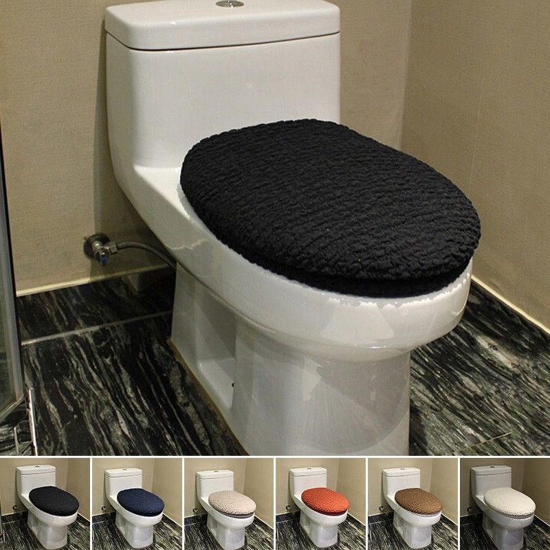 desear 2016 New arrive 2PC wholesale New Toilet Seat Cloth Set Closestool  Tank Lid Cover Hasp. bathroom tank sets for toilet   My Web Value