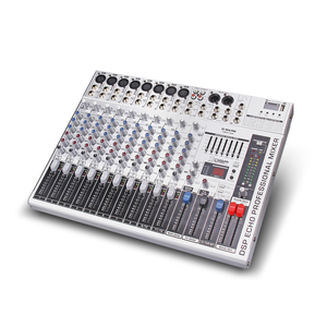 Image 5 - G MARK GMX1200 профессиональный звуковой микшер микшерная консоль dj Studio 12 каналов 8 моно 2 стерео 7 бренда EQ 16 эффект USB bluecabinet