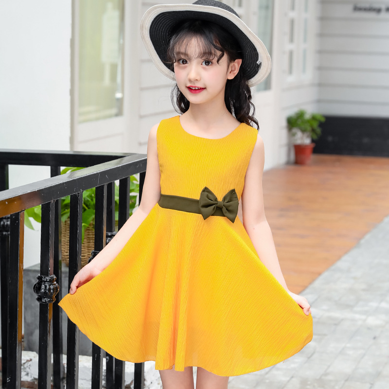 big girls summer clothes 2018 little girls dresses chiffon dress girl princess dress kids clothing 3 4 5 6 7 8 9 10 11 12 years kids 2017 new summer big flower chiffon girl dress sleeveless solid color dress 3 4 5 6 7 8 9 10 11 12 years baby girl clothes