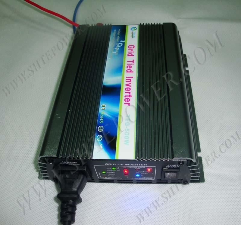 Ру на сетке инвертор 22v-60vdc к 110vac, на сетке Солнечные энергетические установки инвертор с широким Напряжение 300 Вт