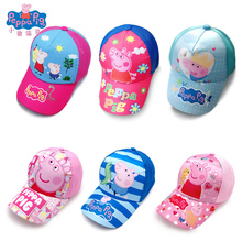 peppa pig Anime Figure Hat Kids's Cap Birthday Party Supplies Christmas Gift Toys for Children Free Delivery