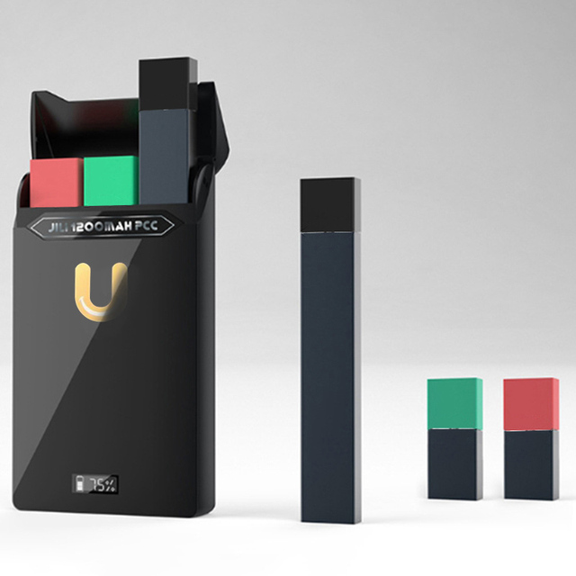 US $20 57 10% OFF|New Arrival USB Charger Box Shape Portable Charger And  Pods Comparable For Juul Batteries And Vape Pen For JUUL-in Elctronic