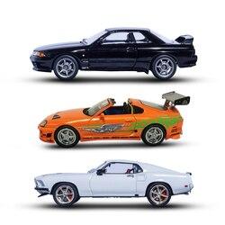 1:43 мини Форсаж машинки Hot Wheels 3 Тип для детей коллекционные игрушки малыш Toyota литья под давлением Металл Модель автомобиль Маккуин