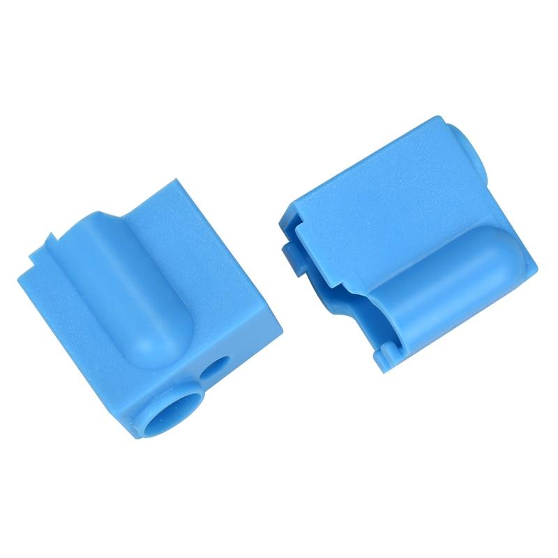 1/2PCS Volcano Silicone Socks Fit Volcano Block V6 J-head Hotend Bowden Direct Extruder Reprap 3D Printer Parts Heater Block