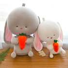 Children Toy 30cm Baby Rabbit Appease Sleeping Comfort Doll Plush Toy Smooth Obedient Rabbit Sleep Calm child birthday gift