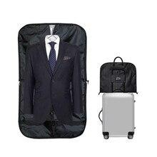 BAKINGCHEF Men Suit Storage Bag Dustproof Hanger Organizer Travel Coat Clothes Garment Cov