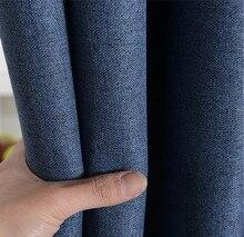 Linen  curtains for bedroom modern minimalist  blackout  curtains for living room rideaux pour le salon rideaux luxe salon