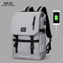 15.6 Inch Laptop Bag Man USB Design Backpack