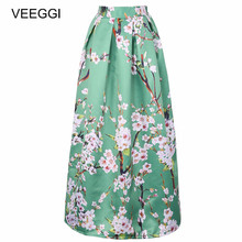 98de7380c22fe Buy floral flared skirt and get free shipping on AliExpress.com