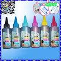 6Pcs/80ML Universal for EPSON Refill Ink Set (T6641 T6642 T6643 T6644) For L120 L200 L210 L355 L555