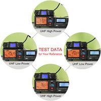 dual band vhf uhf Ham נייד רדיו משדר VHF UHF Mobile Radio Dual Band Quad המתנה משדר רכב עם תכנות Cable & Software (4)