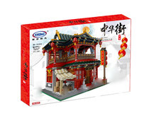 Xingbao 01002 3267Pcs MOC Creative Series The Beautiful Tavern Set Children Building Blocks Bricks Educational Toys Model Gift