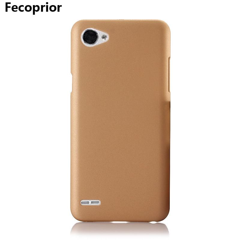 Fecoprior LGQ6 Q 6 Hard PC Matte Case For LG Q6 Back Cover Armor Shield Smart Phone Protect Fundas Coque Celulars