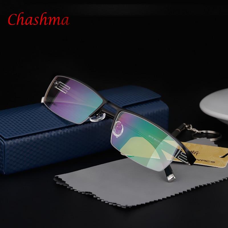 Titanové módní rámové brýle pánské brýle rámy na předpis brýle originální brýle oculos de grau rámové brýle značky
