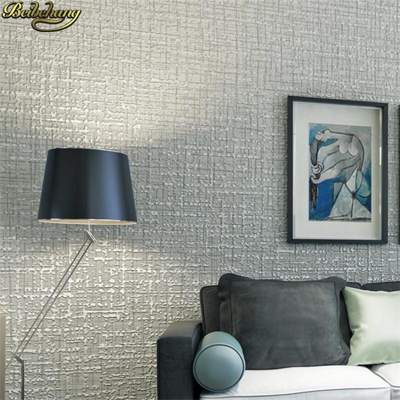 Beibehang simples moderno lama diatom ceas de arenito de - Papel de pared moderno ...