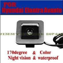 Color car camera for 2012 Hyundai Elantra Avante Car Rear View Camera Reverse Backup parking aid waterproof