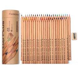 24/48 Colors Wood Colored Pencils Set Lapis De Cor Artist Painting Oil Color Pencil For School Drawing Sketch Art Supplies