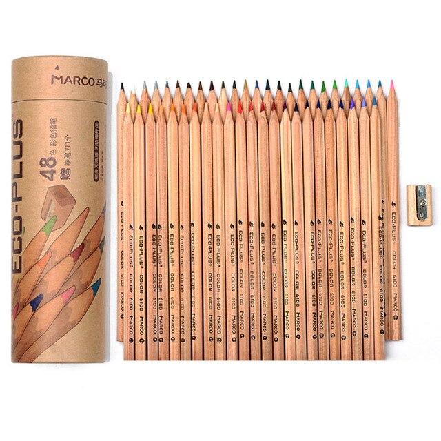 24 48 colors wood colored pencils set lapis de cor artist painting