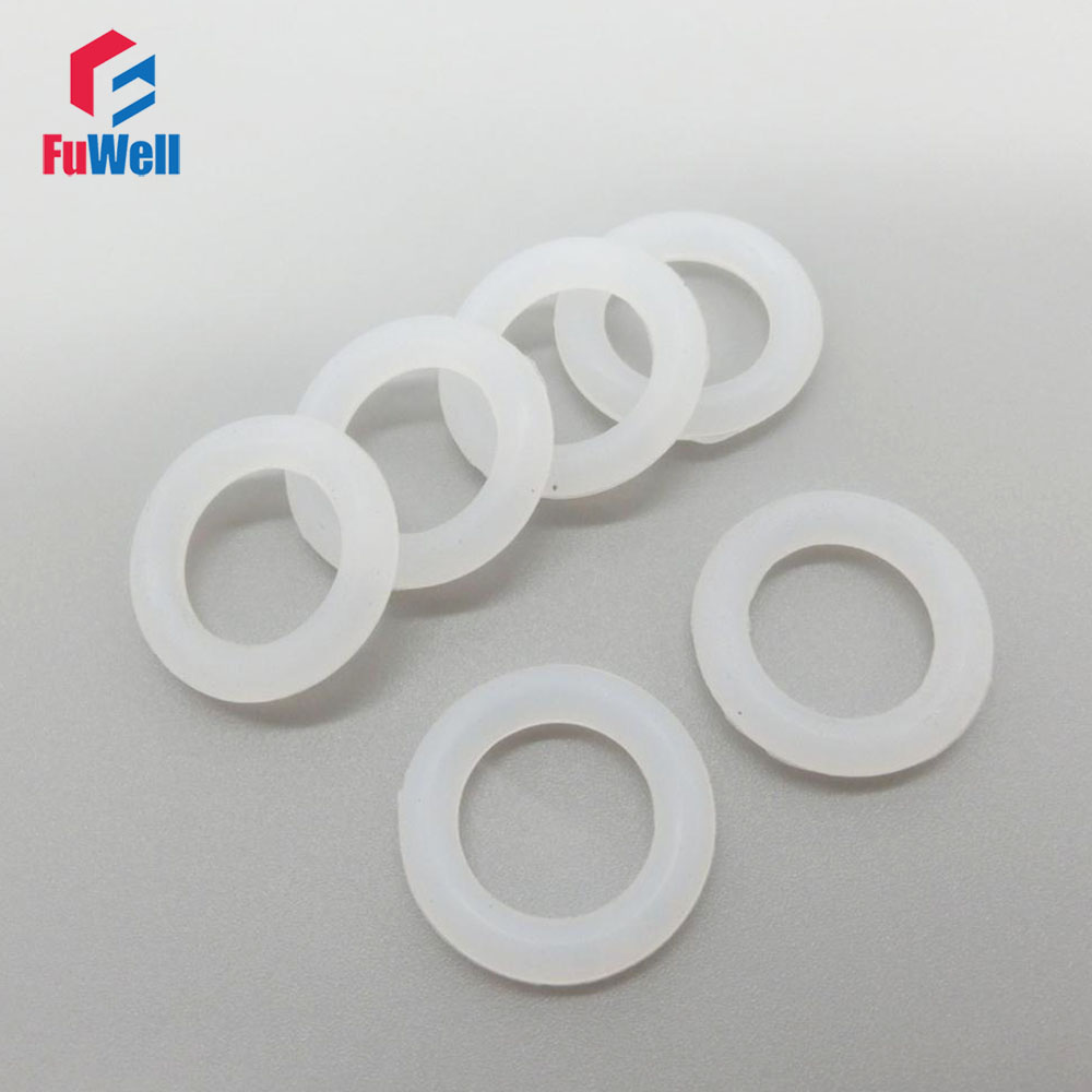 O-ring Seals Gasket White Silicon Food Grade 3mm Thickness 32/33/34/35/36/37/38/39/40/41/42mm OD Rubber O Rings Sealing Washer 100pcs nbr o ring seals gasket 1mm thickness food grade o ring seal 70sha black rubber sealing rings grommet