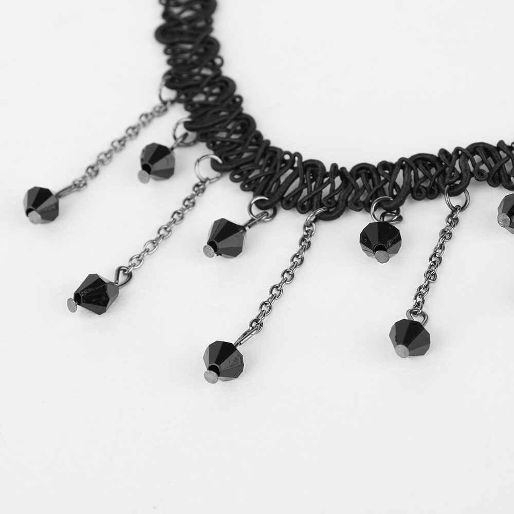 1 pc mode pendentif chaîne cristal Choker Chunky déclaration bavoir collier bijoux charme collier