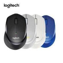 Logitech M330 Wireless Mouse Mute Wireless Computer Mice Black/White/Blue/Gray