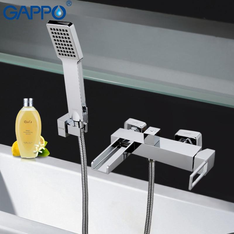 GAPPO Bathtub Faucets bathroom faucet bathroom taps wall mount Brass bathtub mixer bath mixer sink faucet waterfall faucetGA3240 gappo bathtub faucet bathroom faucet bathroom taps wall mount brass bathtub mixer bath mixer sink faucet waterfall faucetga32078
