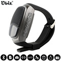Ubit B90 Спорта Bluetooth Динамик Громкой связи TF Карты Играть FM Радио автоспуска Беспроводной Динамики Smart Watch Дисплей времени