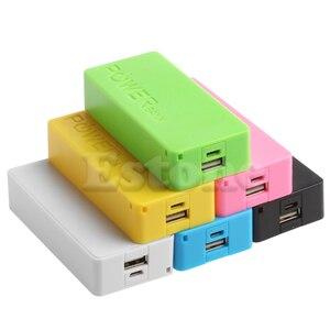 1 шт. 5600 мАч 5 В USB запасные аккумуляторы для телефонов случае 18650 панели солнечных батарей чехол сотового телефона США