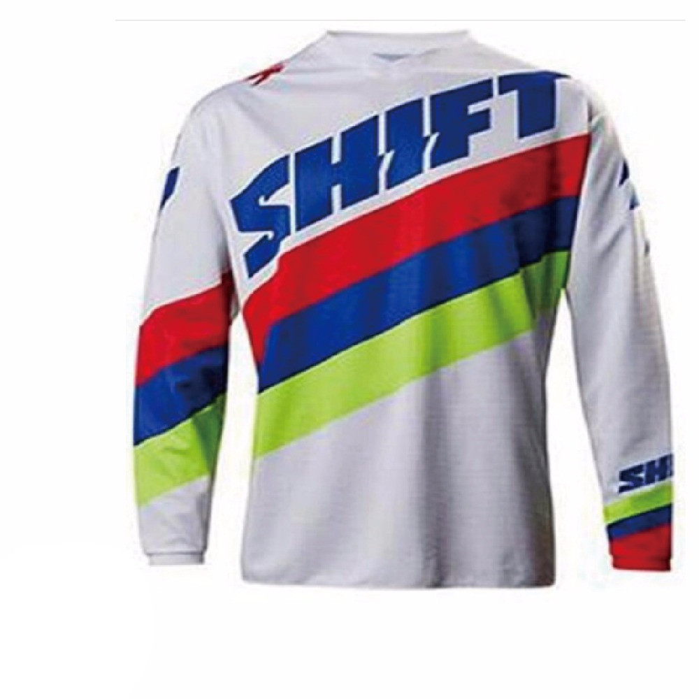 NEW Downhill Jersey for shift Mountain Bike Motorcycle Jersey Crssmax Shirt DH MX Jersey qa Motocross Jersey XC BMX DH MTB T Shi