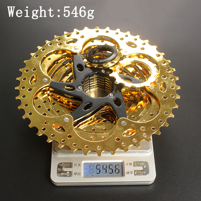Image 4 - SUNSHINE SZ 11 42T 10Speed Cassette 10 s Gold Freewheel MTB Mountain Bike Bicycle Steel Golden Sprockets for parts System-in Bicycle Freewheel from Sports & Entertainment